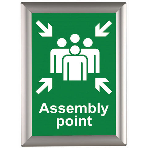 BusyGrip aluminium poster frame