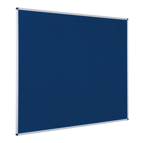 Aluminium Framed Noticeboard with Fire Retardant Cloth