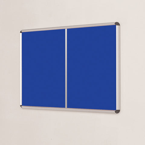 Shield Design Multi-banked Aluminium Noticeboard