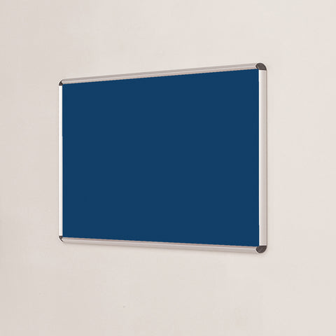 Shield Design Resist-a-Flame Aluminium Framed noticeboard