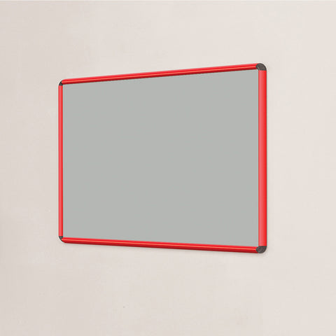 Shield Design Resist-a-Flame Coloured Framed Noticeboard
