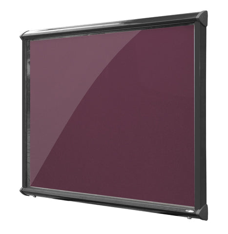 Shield exterior showcase illuminated Black Frame