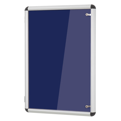 Shield Design Aluminium Tamperproof Noticeboard