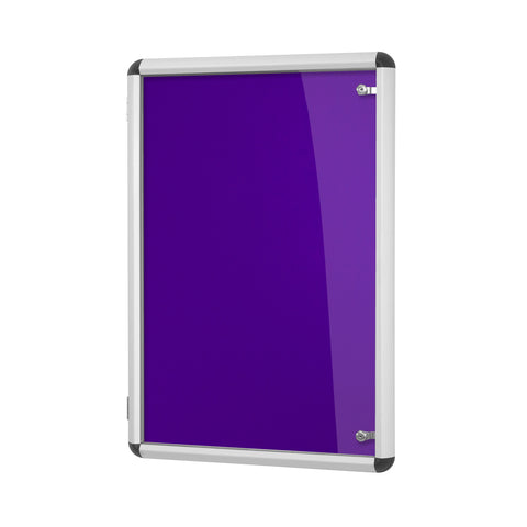 Shield Design Tamperproof Aluminium Vibrant Noticeboard