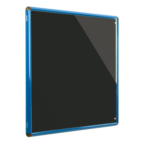 Shield Design Colour Frame Tamperproof Noticeboard