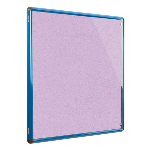Shield Design Colour Frame Vibrant Tamperproof Noticeboard