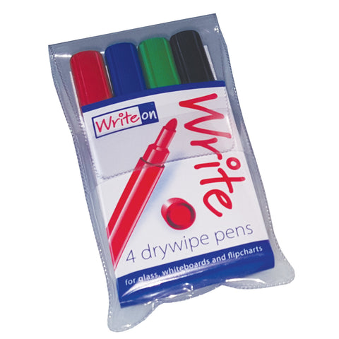 WriteOn Drywipe Pens with New Ink Formula