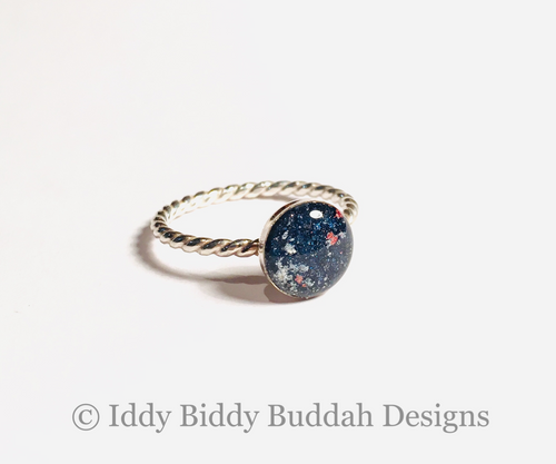 Symbolic Memorial Galaxy Ring