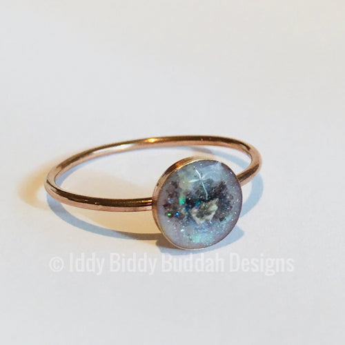 DNA Keepsake Ring 14K Rose Gold Filled