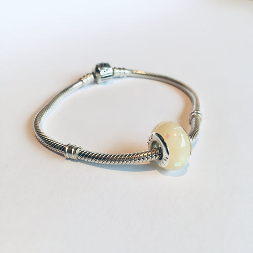 Breastmilk DNA Keepsake Pandora Style Bead
