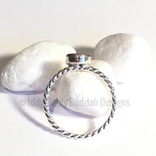 Sterling Silver DNA Keepsake Ring