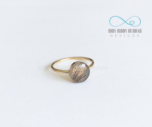 14K Gold Filled DNA Keepsake Ring