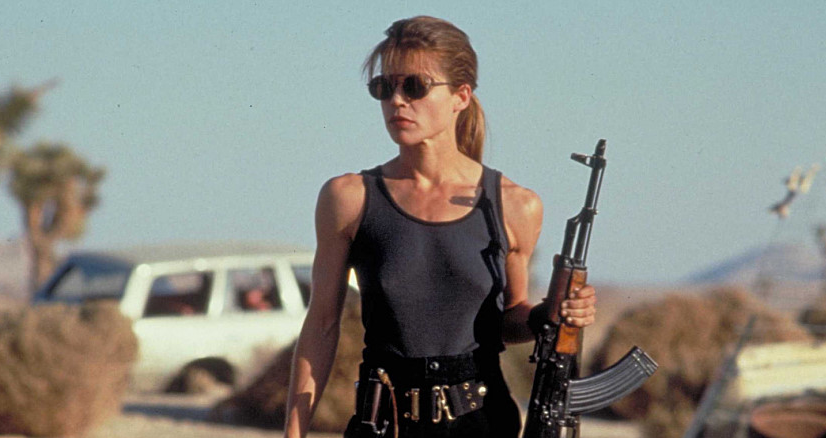 Sarah Conor's sunglasses from 90s film, Terminator 2