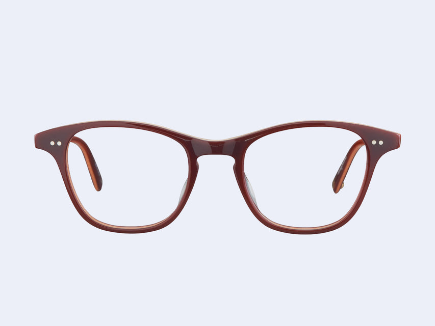 Garrett Leight Vienna (Burgundy Stripe)