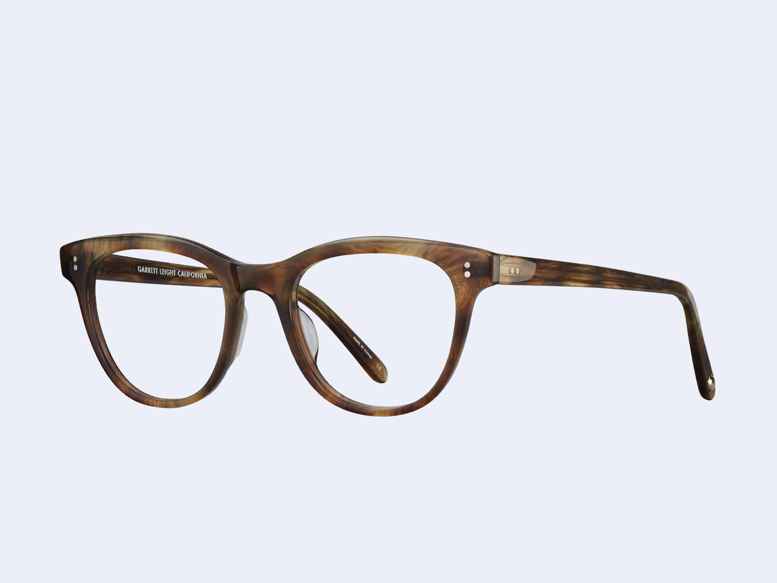 Garrett Leight Loyola (Feather Tortoise)
