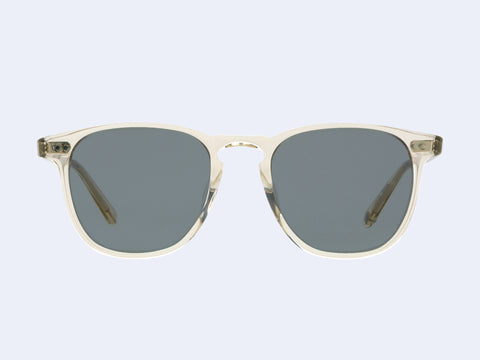Garrett Leight Brooks Sun (Champagne with Semi-Flat Blue Smoke Lens)