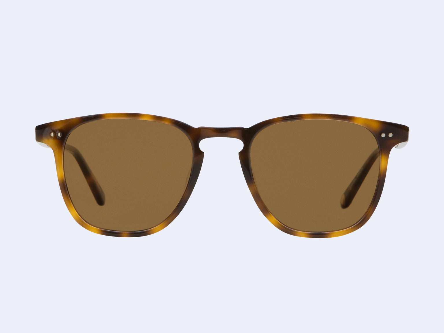Garrett Leight Brooks Sun (Classic Brown Tortoise with Semi-Flat Pure Coffee Lens)