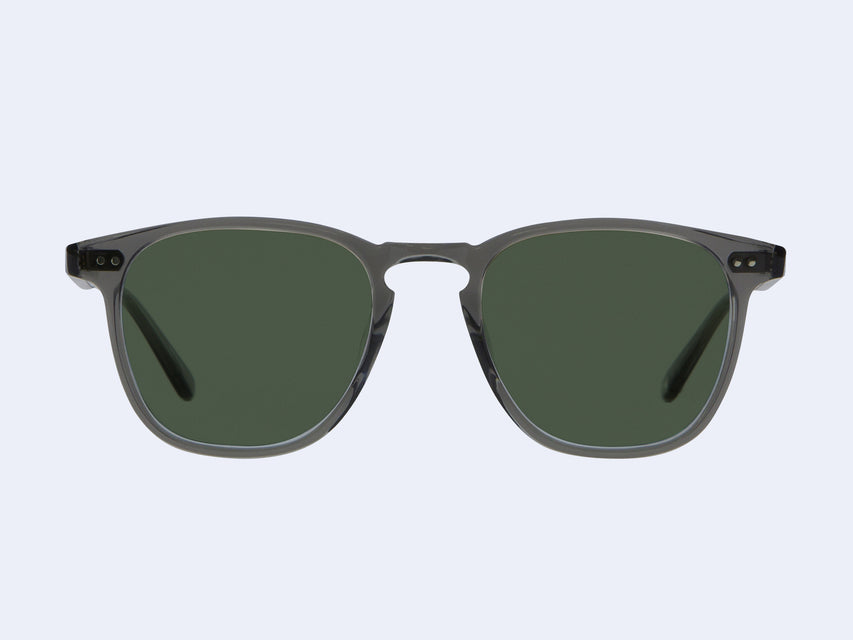 Garrett Leight Brooks Sun (Grey Crystal with Semi-Flat Pure G15 Lens)