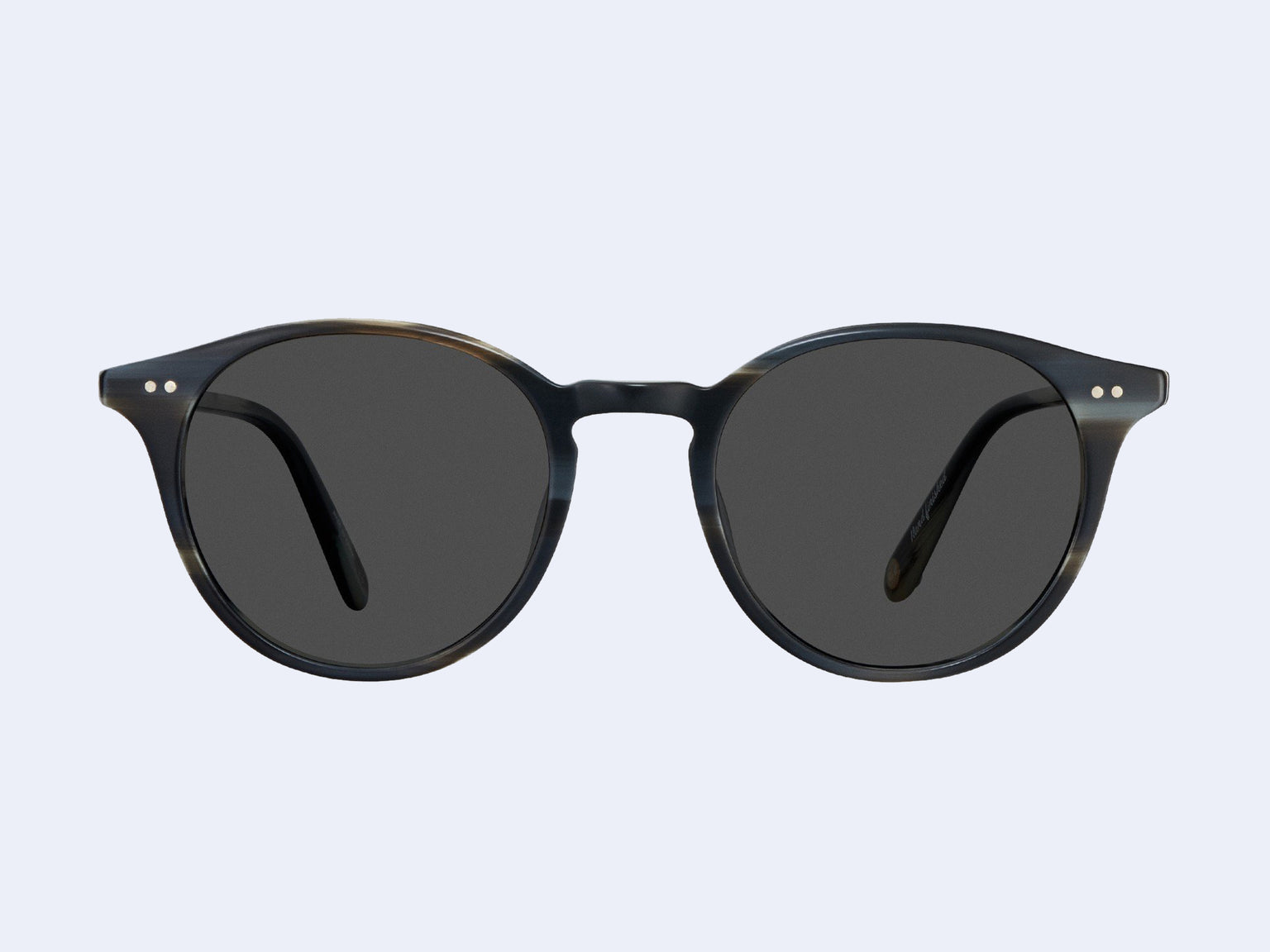 Garrett Leight Clune Sun (Basalt with Semi-Flat Grey Black Lens)
