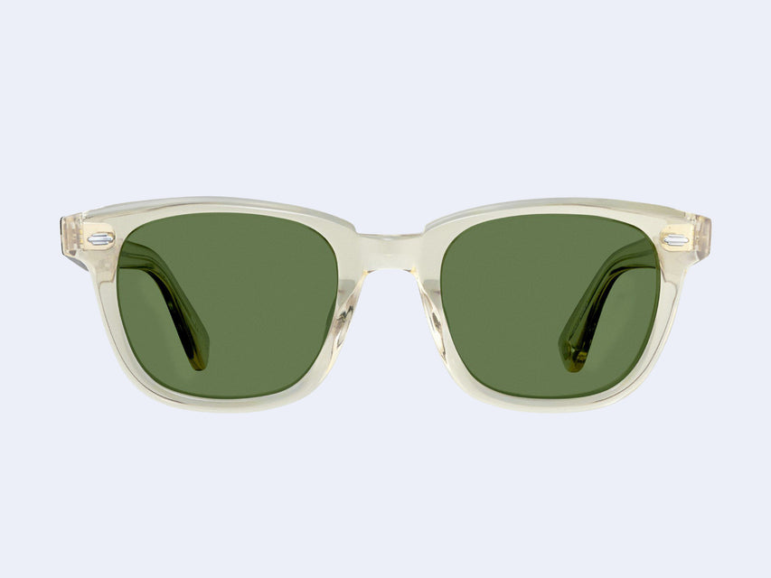 Garrett Leight Calabar (Champagne with Semi-Flat Pure Green Lens)
