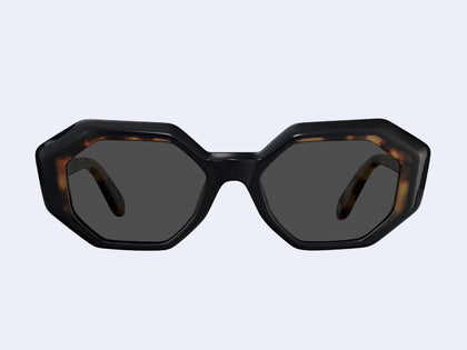 f3f8bb8ec97 Garrett Leight Jacqueline (Black-Dark Tortoise with Semi-Flat Black Lens)