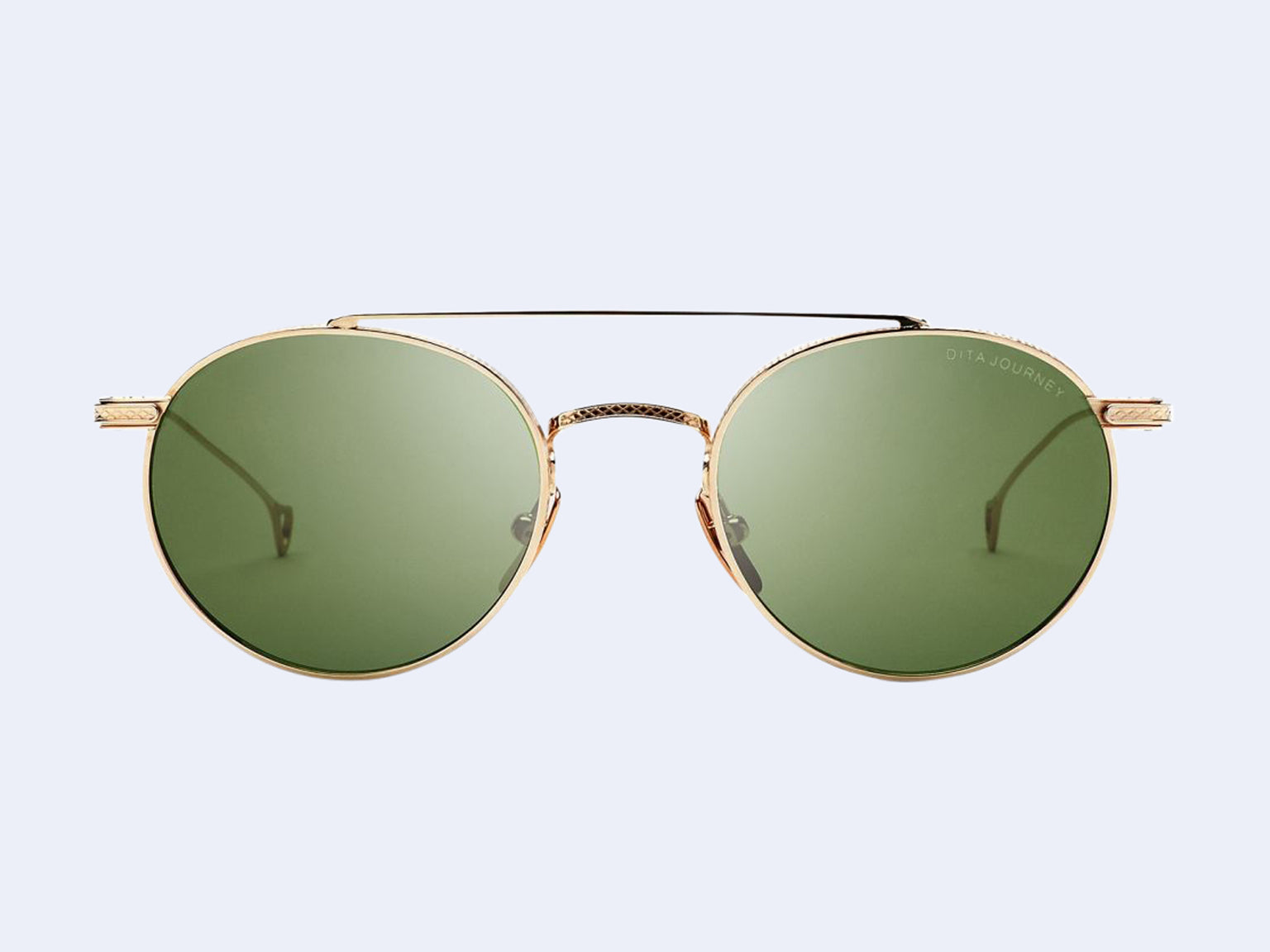 DITA Journey Sun (White-Gold with Vintage-Green Lens)
