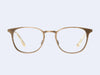 Garrett Leight Kinney M (Brushed Gold)