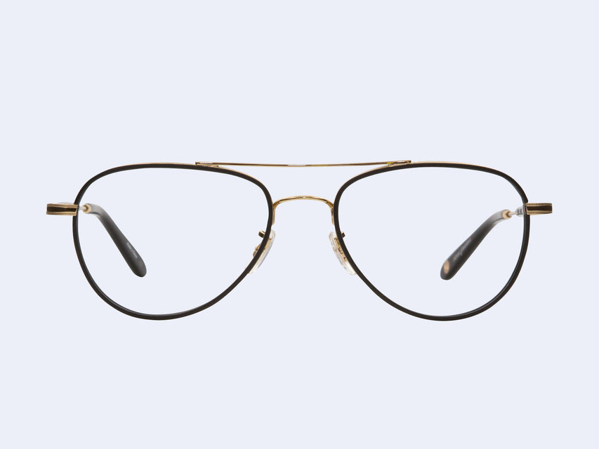 Garrett Leight Linnie (Matte Black-Gold)