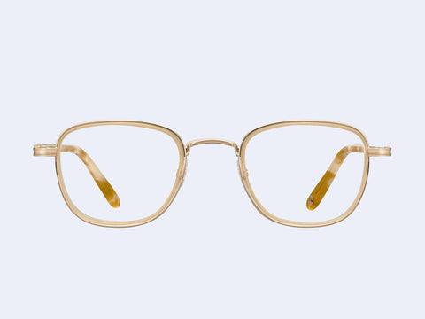Garrett Leight Garfield (Matte Gold-Blonde Shell)