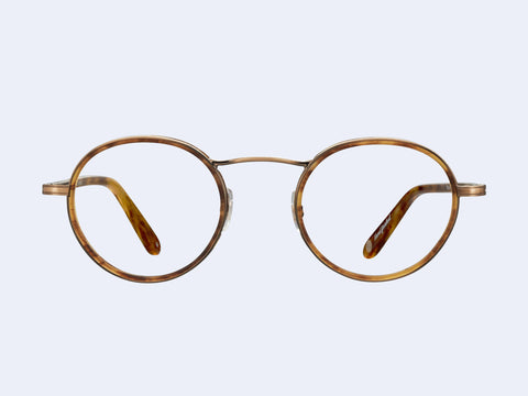 Garrett Leight Penmar (Antique Gold-Matte Pinewood)