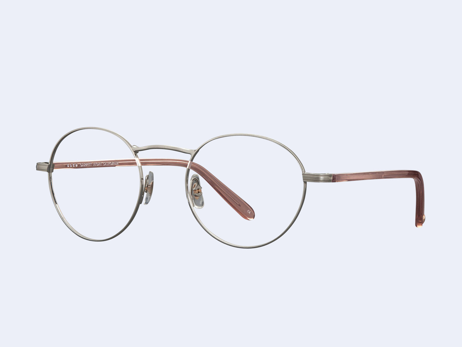 Garrett Leight Penmar (Brushed Silver-Desert Rose)