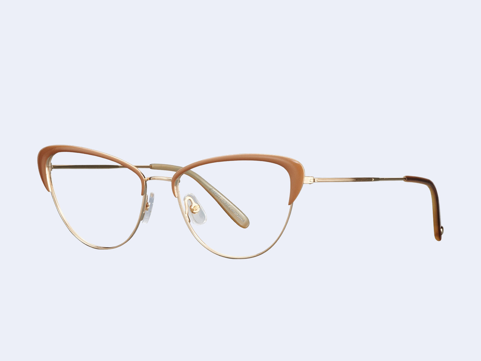 Garrett Leight Vista (Gold-Caramel Laminate)