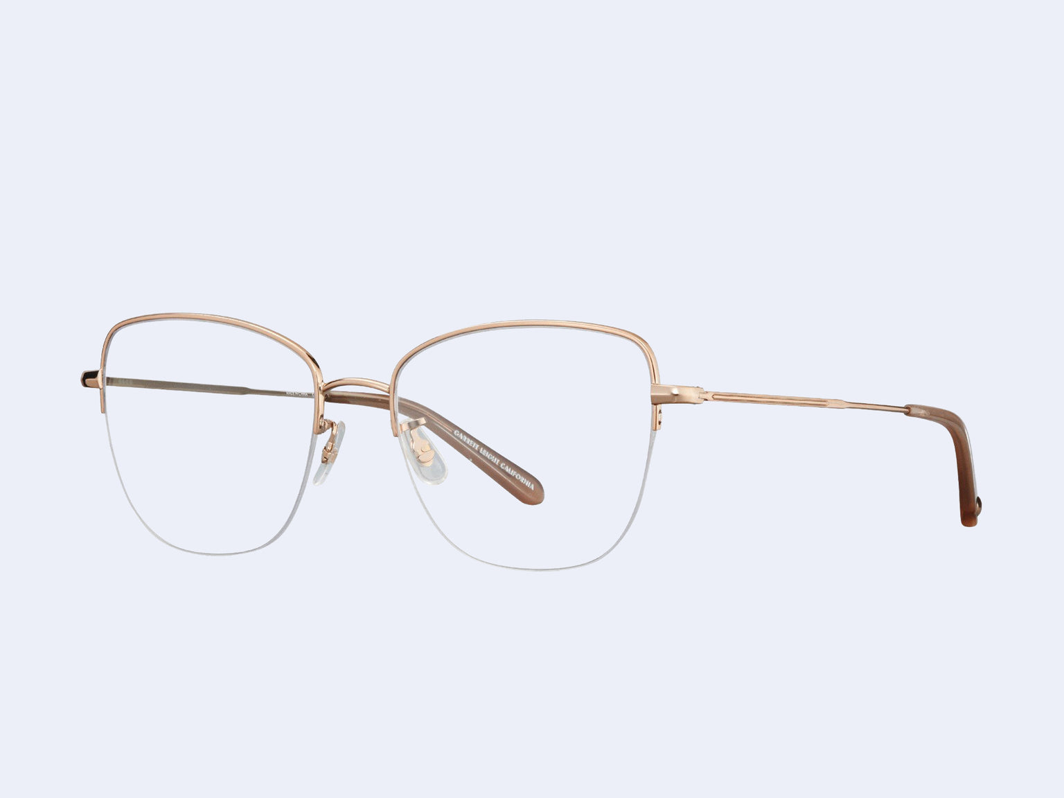 Garrett Leight Pershing (Rose Gold-Dove)