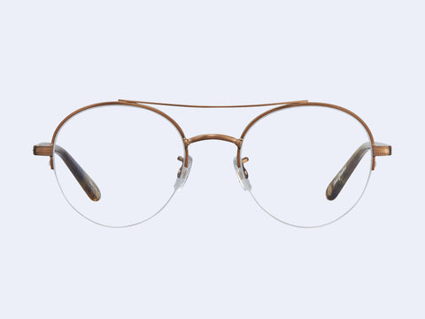 Garrett Leight Manchester (Brushed Gold-Feather Tortoise)