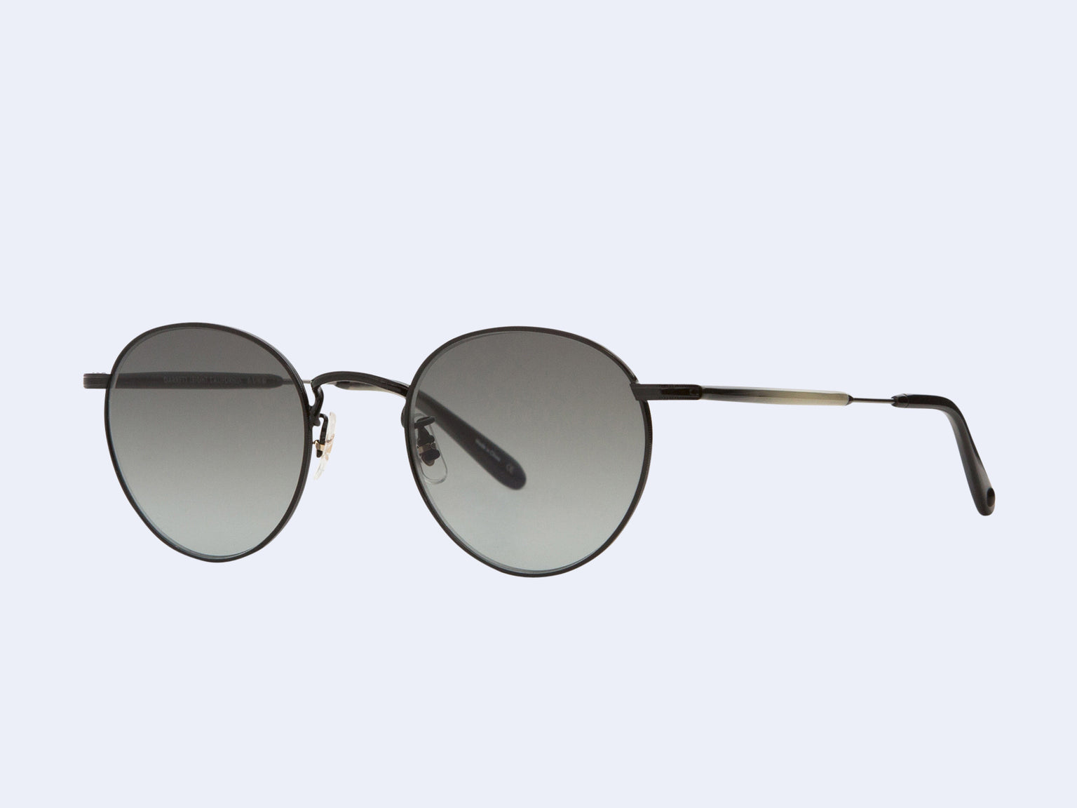 Garrett Leight Wilson M Sun (Black with Semi-Flat Grey Gradient Lens)