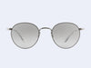 Garrett Leight Wilson M Sun (Moonrock with Semi-Flat Grey Shadow Gradient Lens)