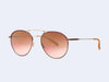 Garrett Leight Innes Sun (Merlot Pearl with Copper Layered Mirror Lens)