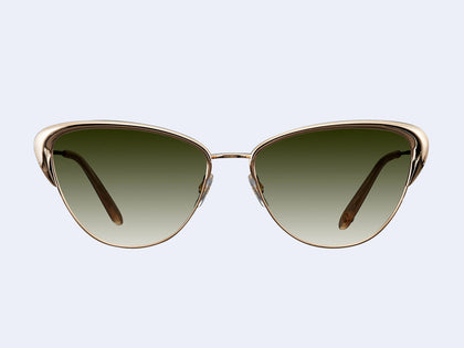 7d0d8e849f6 Garrett Leight Vista (Gold-Cashmere with Semi-Flat Olive Gradient Lens)