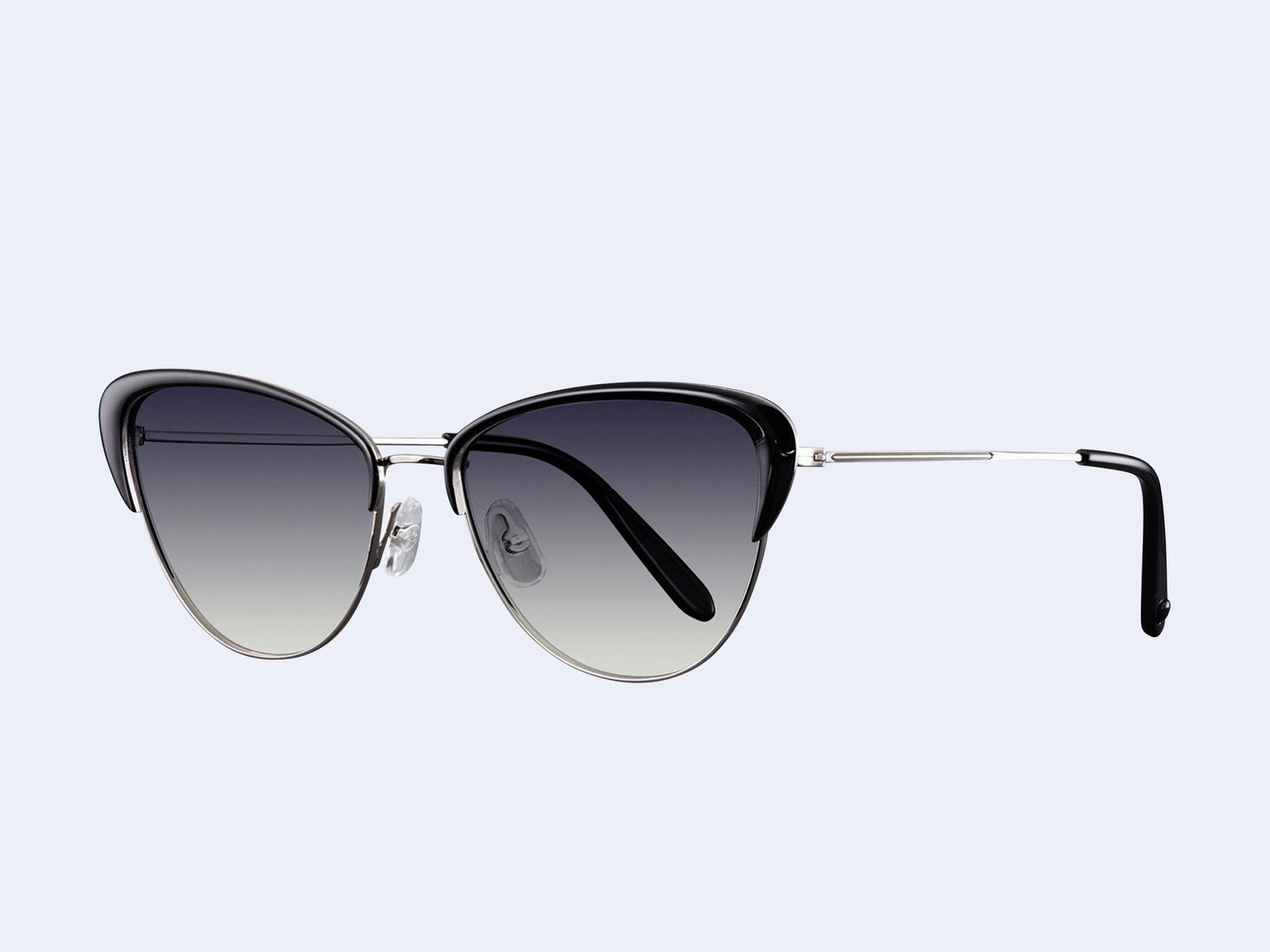 Garrett Leight Vista (Light Gunmetal-Black with Semi-Flat Onyx Gradient Lens)