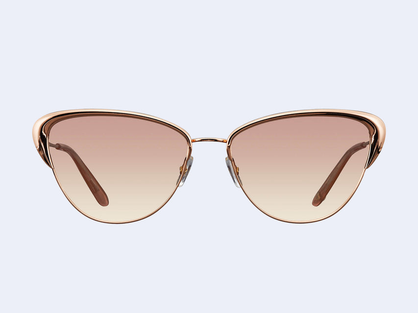 Garrett Leight Vista (Rose Gold-Mink Velvet with Semi-Flat Copper Gradient Lens)