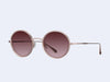 Garrett Leight Playa Sun (Pink Crystal-Rose Gold with Semi-Flat Cherry Bomb)