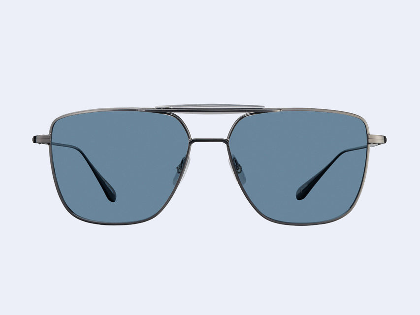Garrett Leight Convoy (Gunmetal-Slate Grey with Semi-Flat Marine)