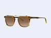 Garrett Leight Brooks Clip (Gold with Bronze Shadow Mirror Lens)