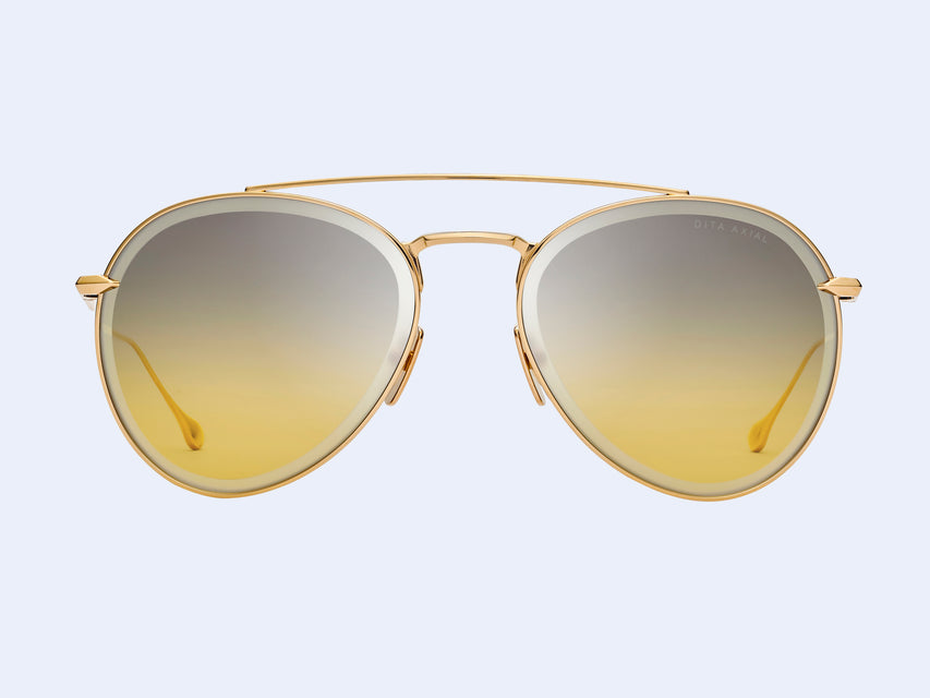 DITA Axial (Gold with Grey to Amber Gradient Lens)