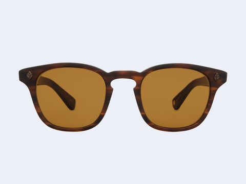 Garrett Leight Ace (Matte Brandy Tortoise with Semi-Flat Pure Brown Lens)