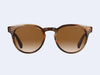 Garrett Leight Boccaccio Sun (Khaki Tortoise with Yellow Brown Gradient Lens)
