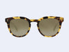 Garrett Leight Granada Sun (Dark Tortoise with Gold Halo Mirror Lens)