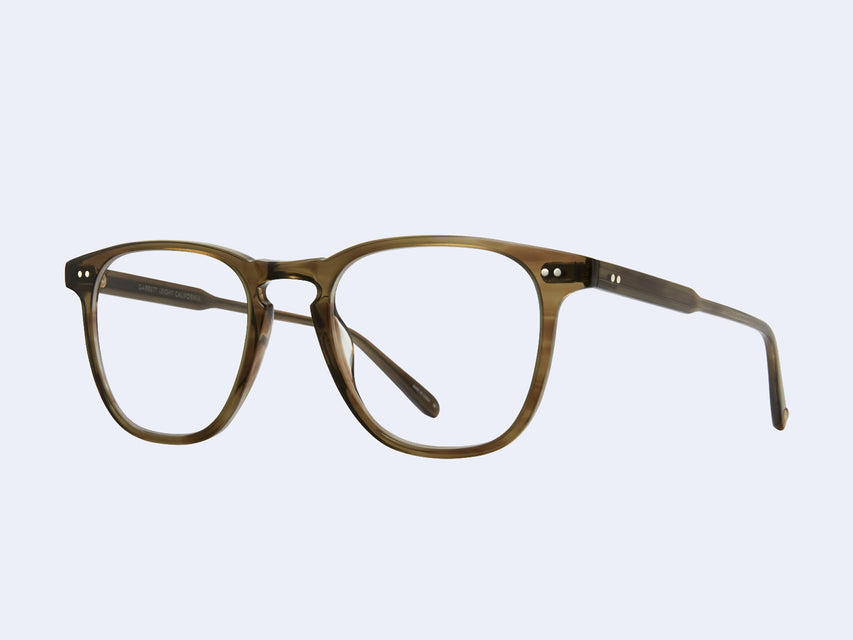 Garrett Leight Brooks (Olive Tortoise)