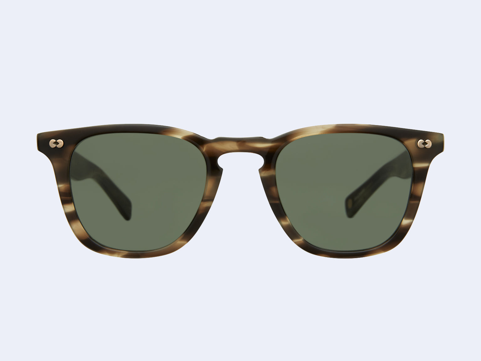 Garrett Leight Brooks X Sun (Kodiak Tortoise with Pure G15 Lens)