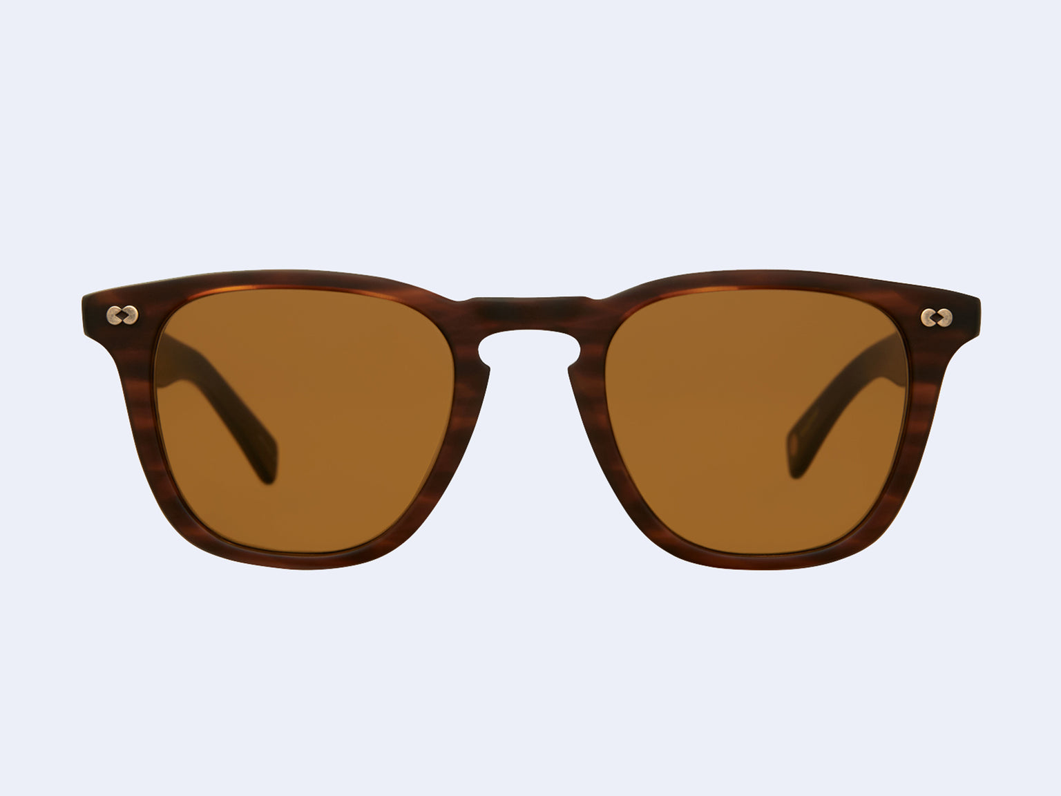 Garrett Leight Brooks X Sun (Matte Brandy Tortoise with Pure Brown Lens)